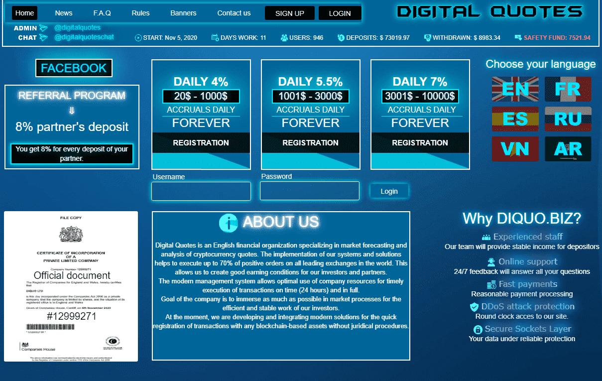 Digital Quotes