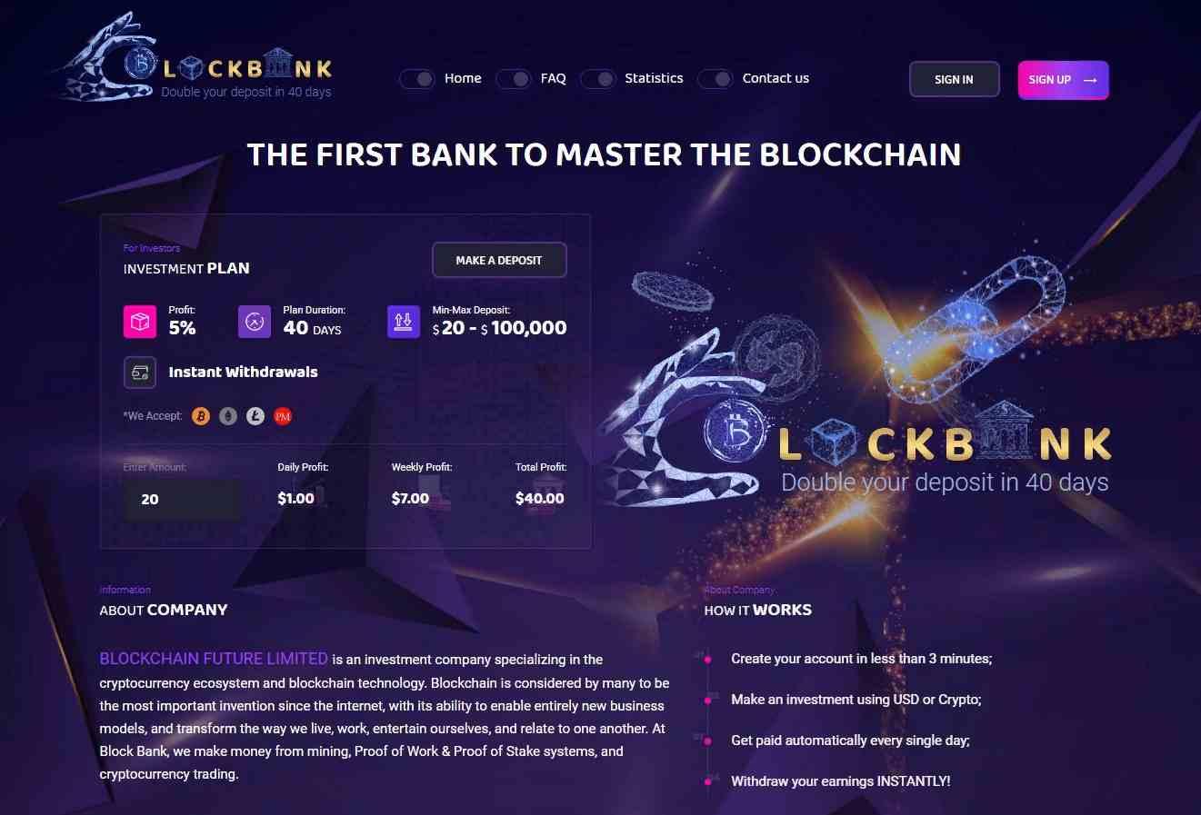 Block-bank