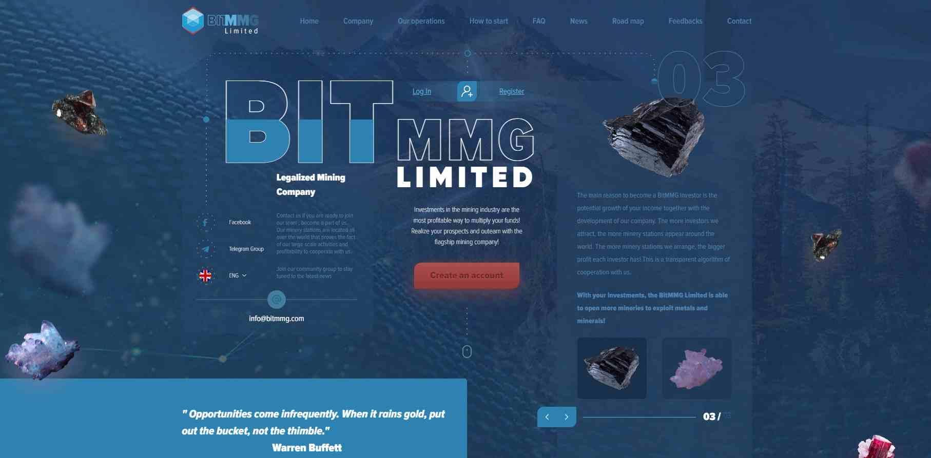 Bitmmg Limited