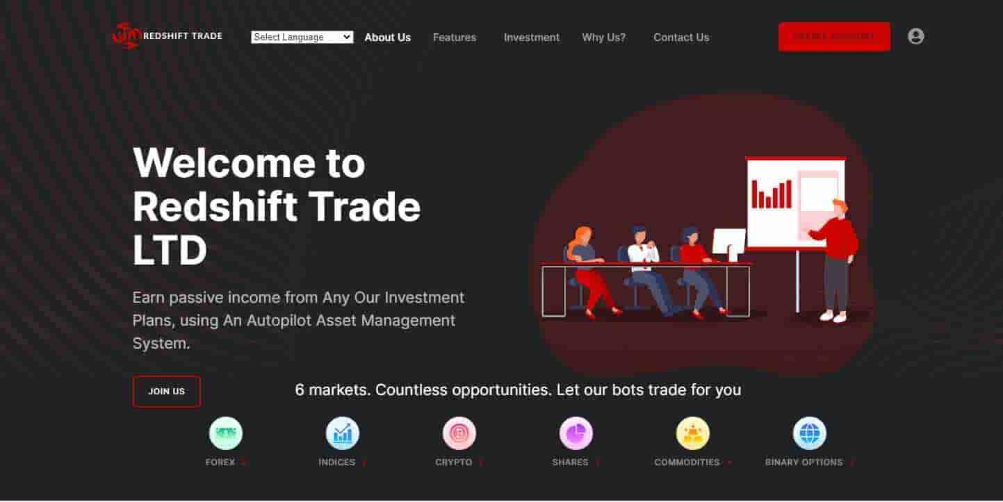 Redshift Trades