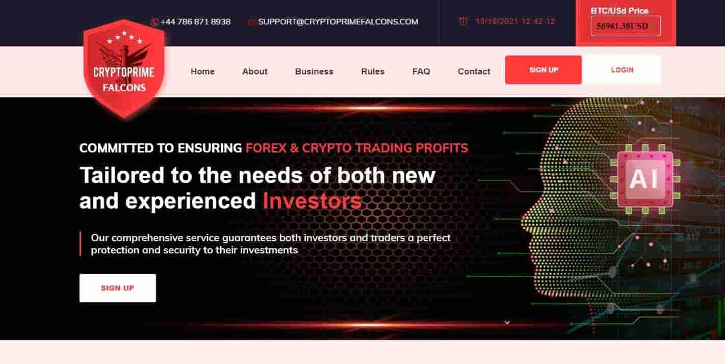 Crypto Prime Falcons