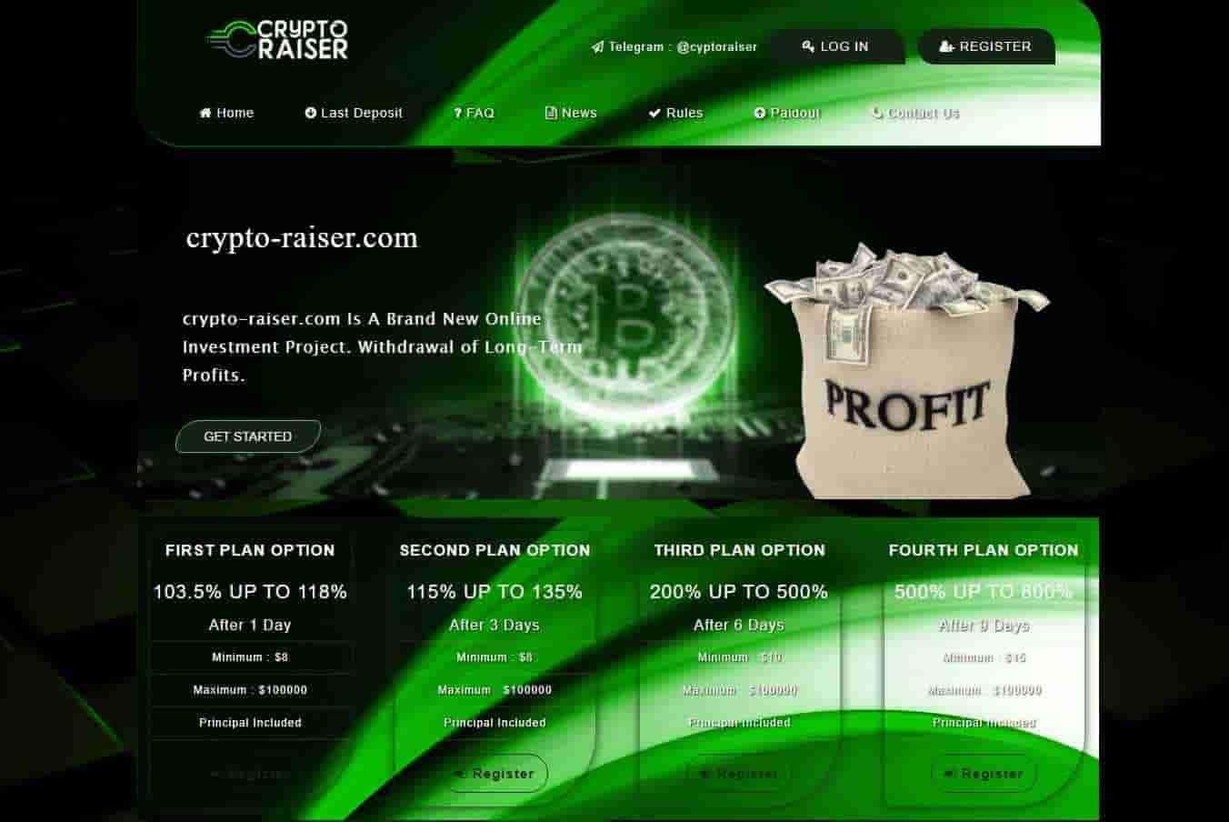 crypto-raiser