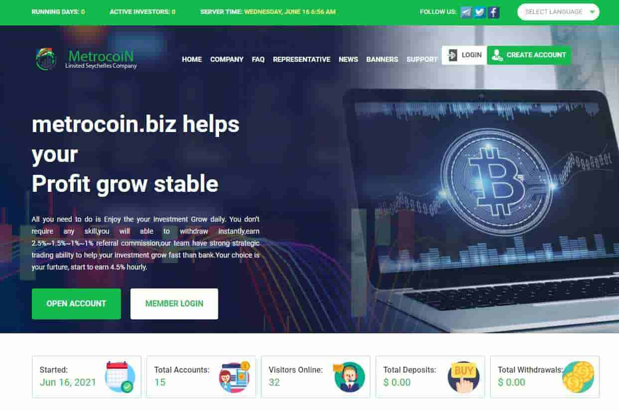 Metrocoin Limited