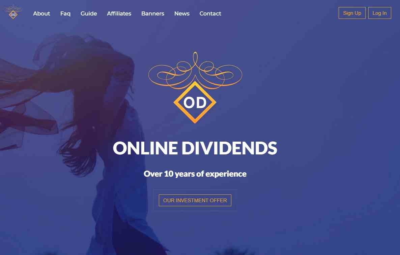 Online Dividends