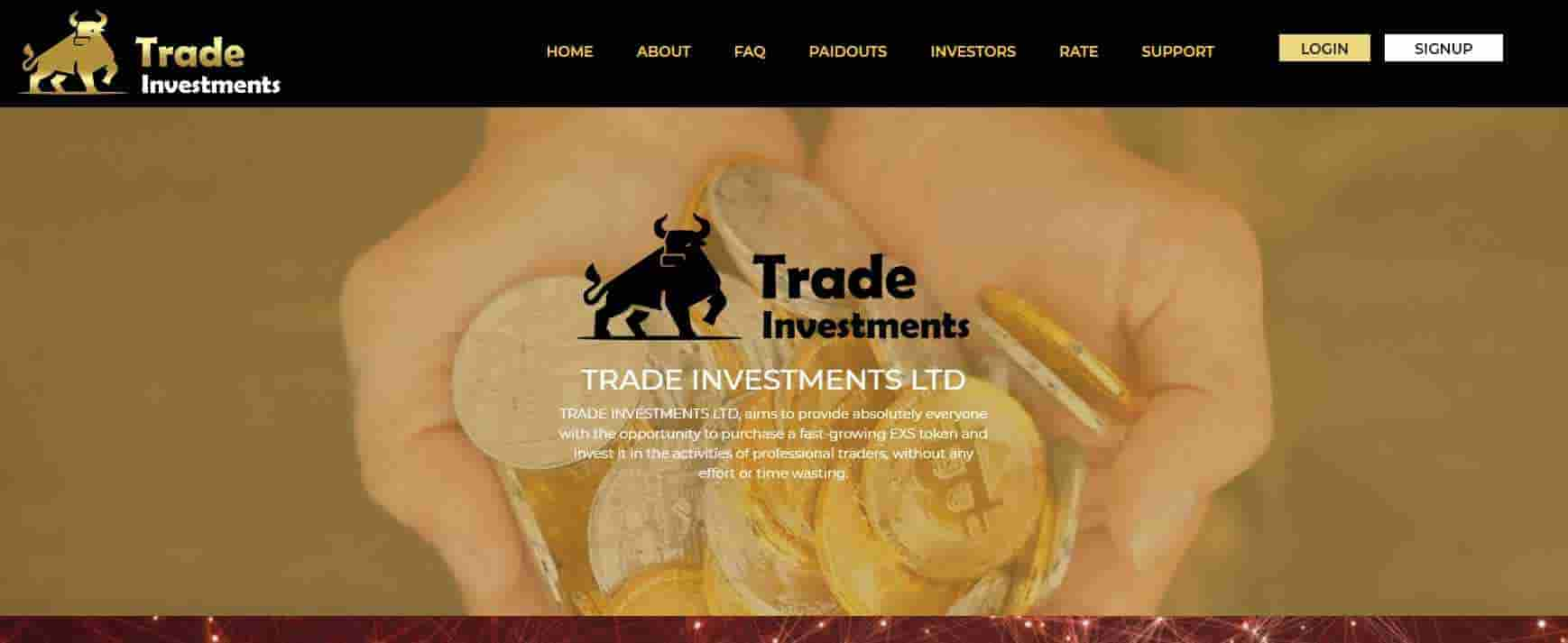 TRADE INVESTMENTS