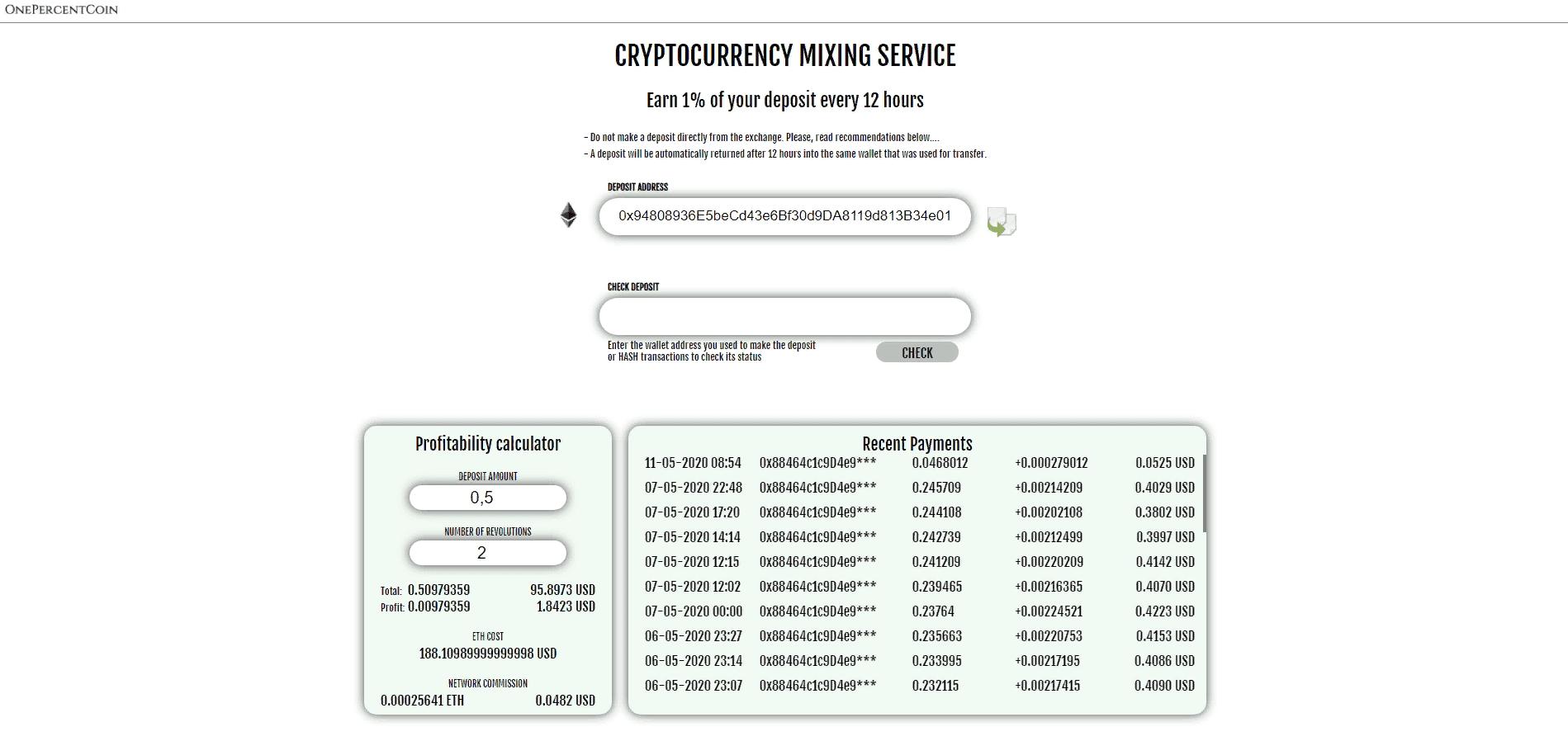 OnePercentCoin