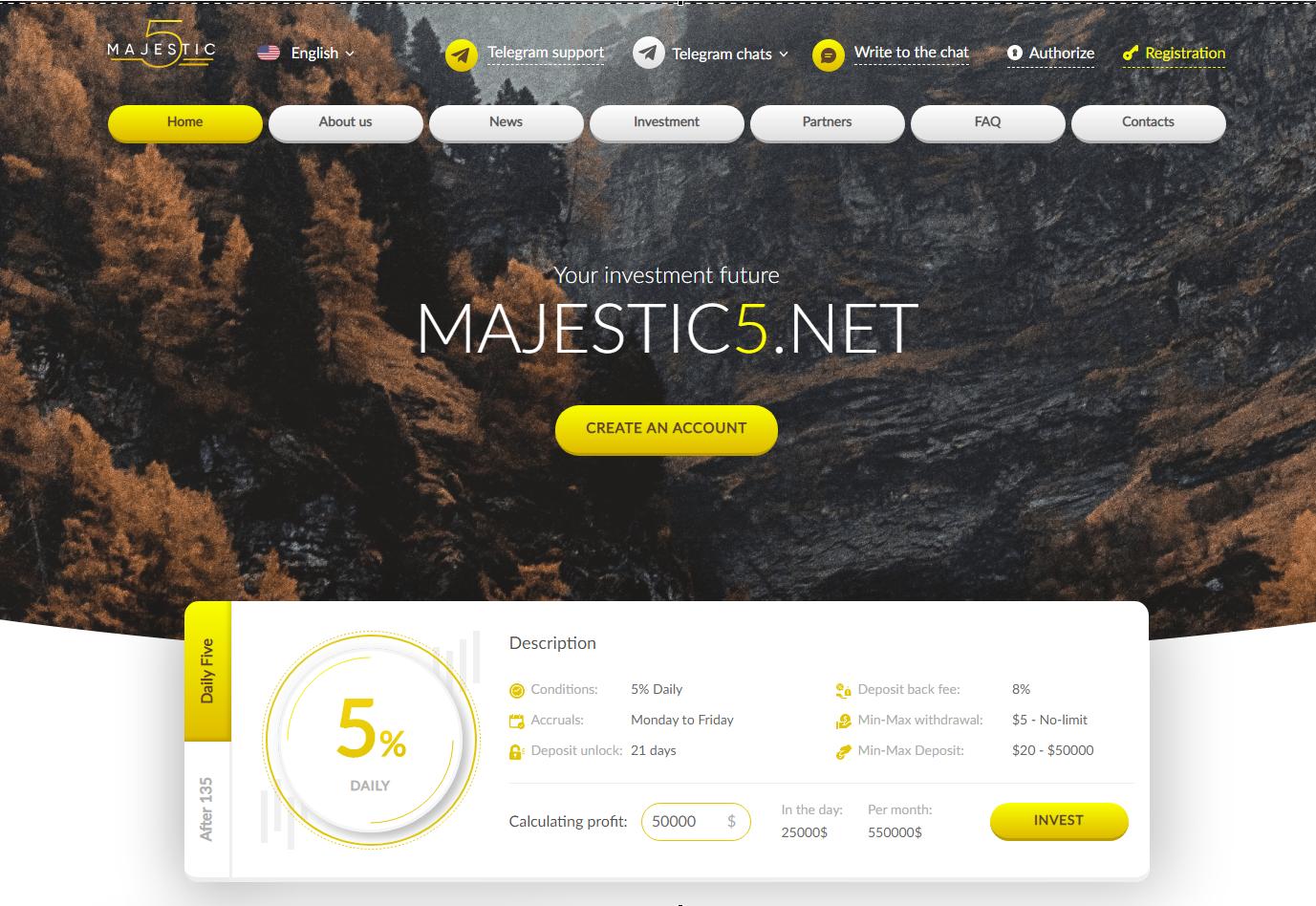 Majestic Five Limited