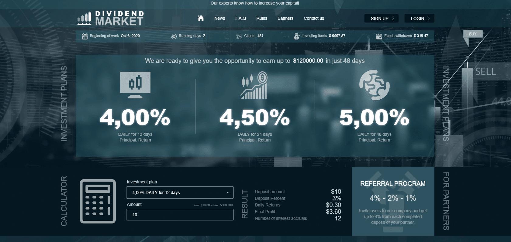 Dividend Market
