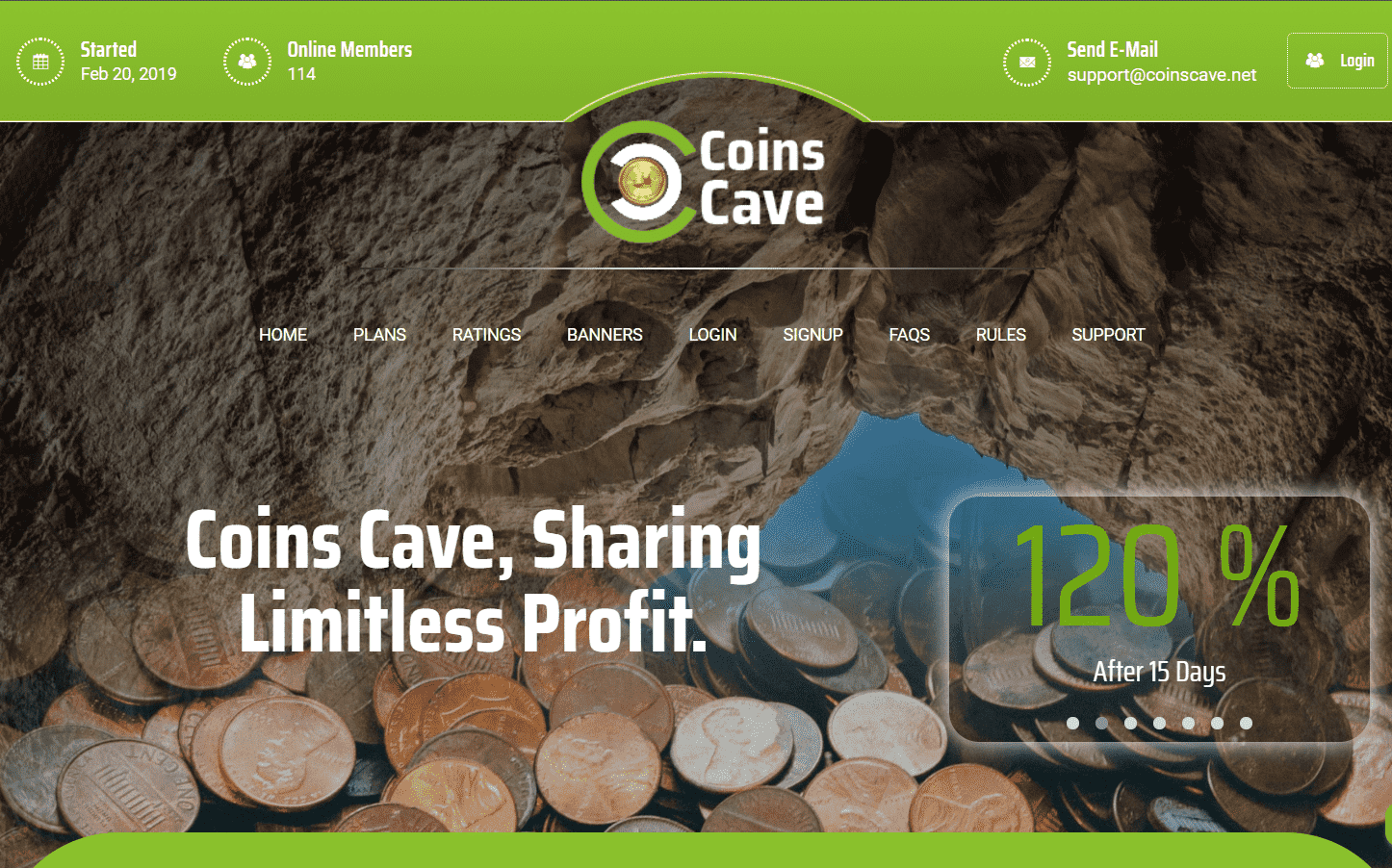 Coins Cave