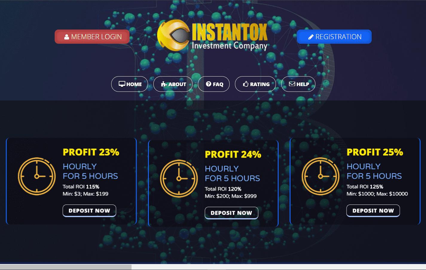 Instantox Investment