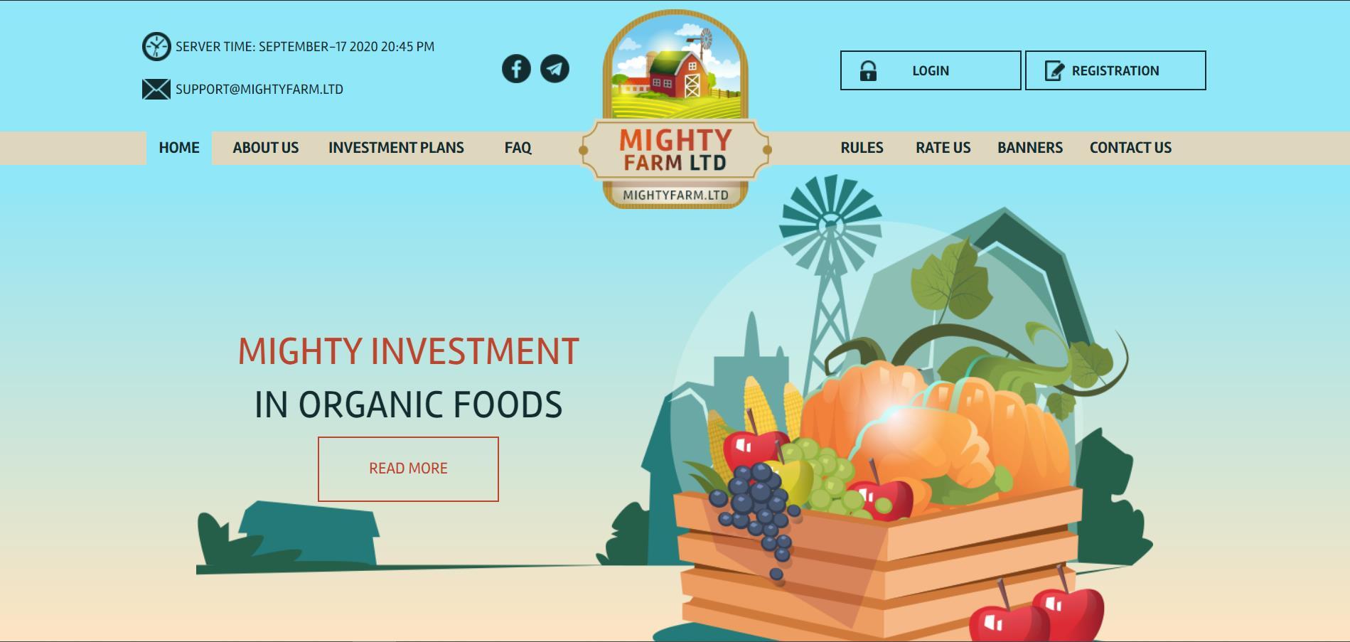 Mighty Farm Ltd