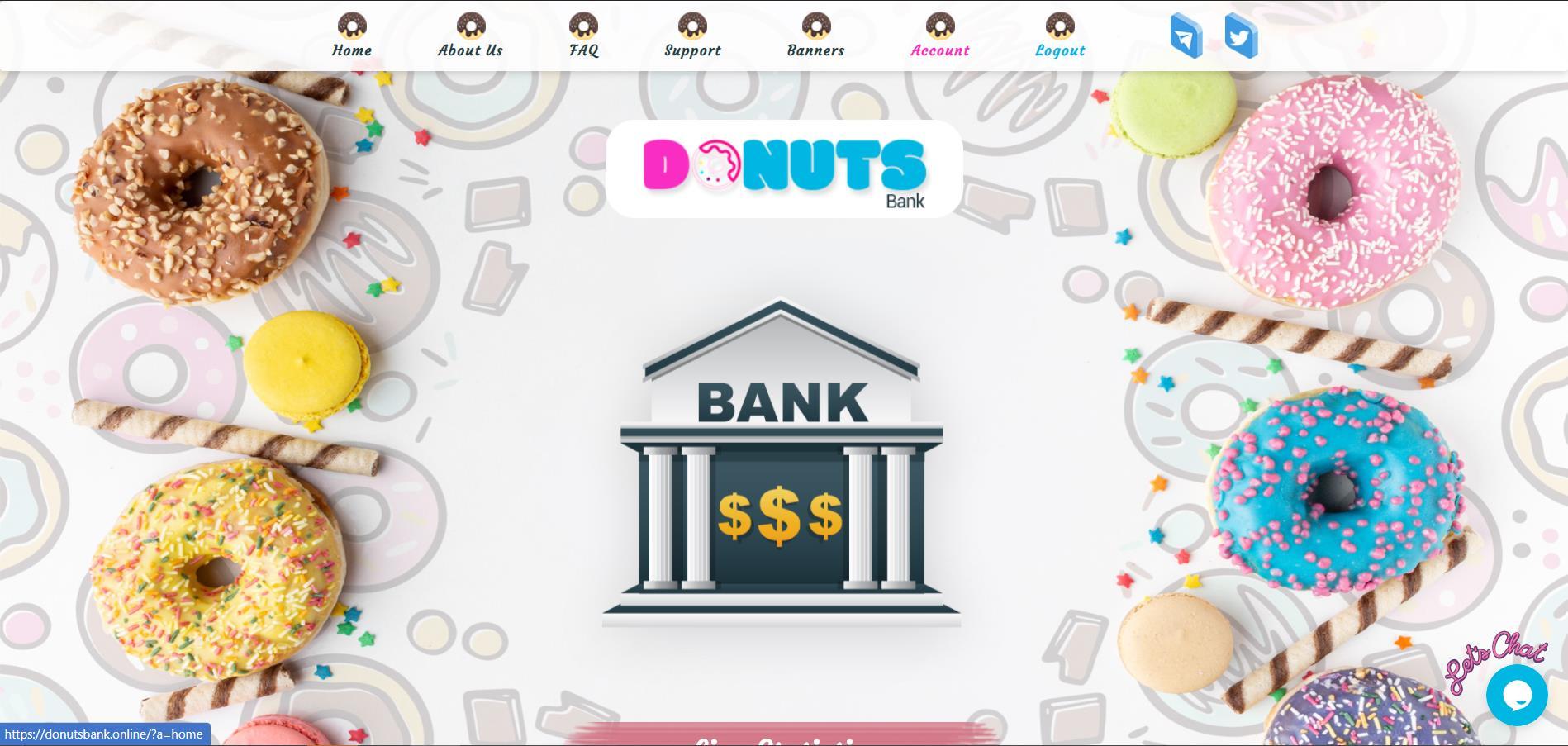 Donuts Bank