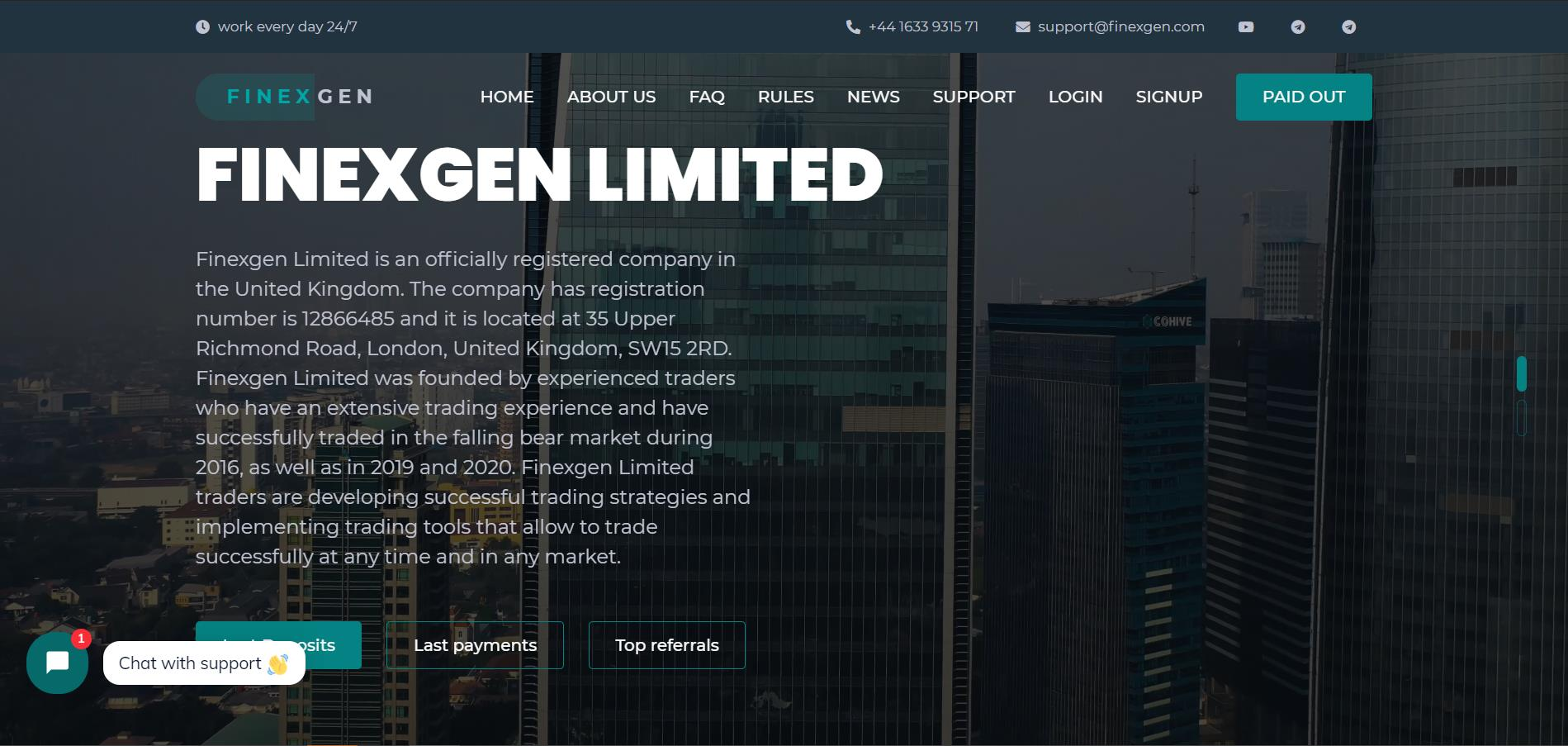 Finexgen Limited
